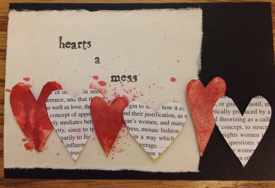 Hearts a Mess: Papercraft Postcards