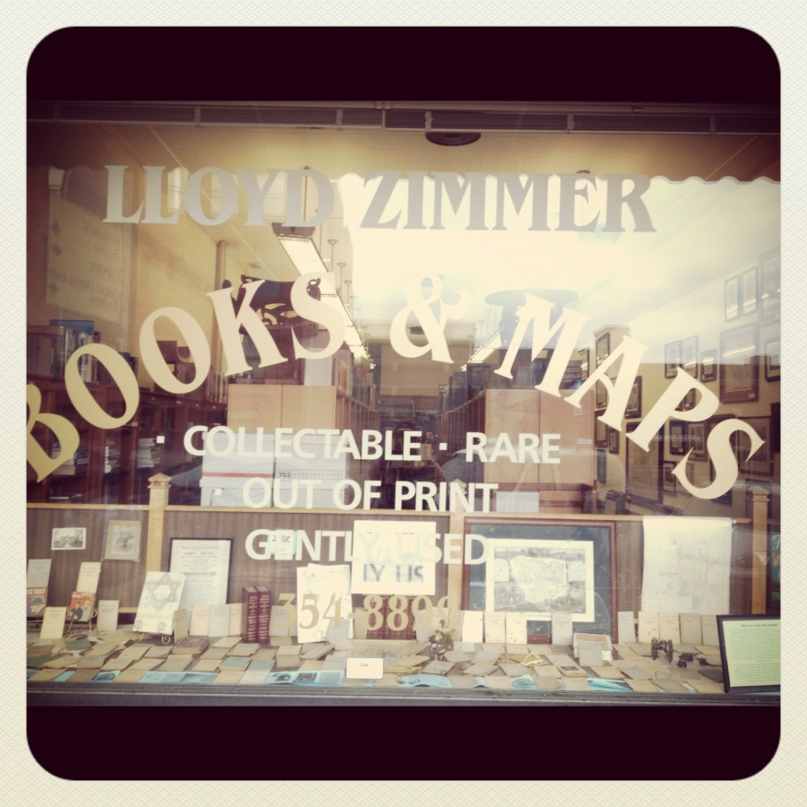 Bookstore: Lloyd Zimmer Books and Maps