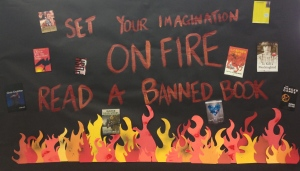 banned book library display