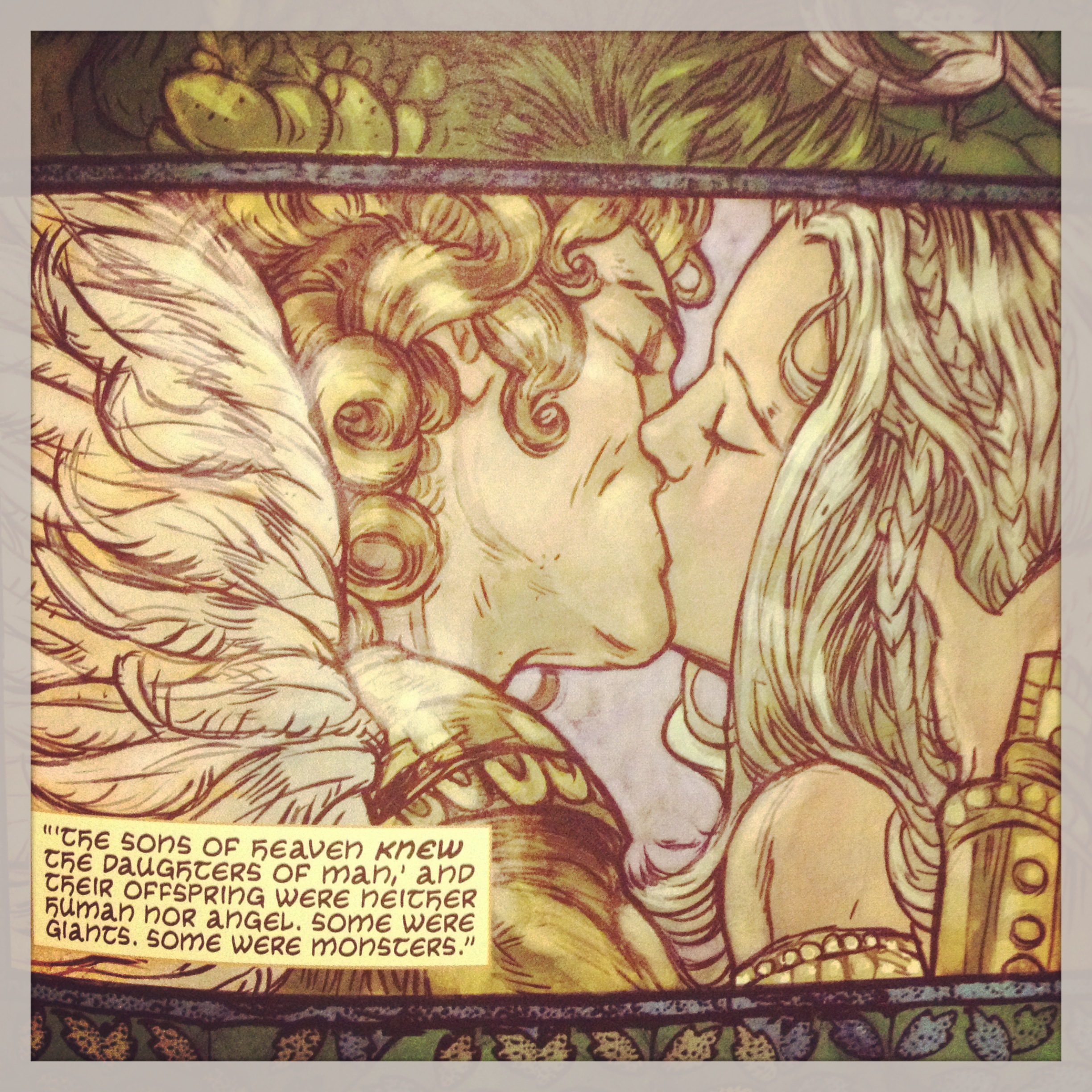 My Kind Of Graphic Novel A Flight Of Angels By Rebecca