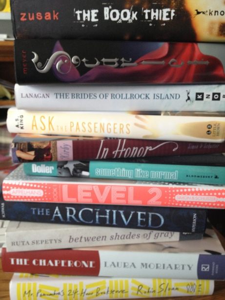 top ten tuesday books i own but haven't read