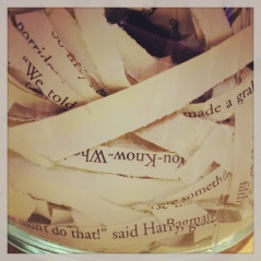book in a jar