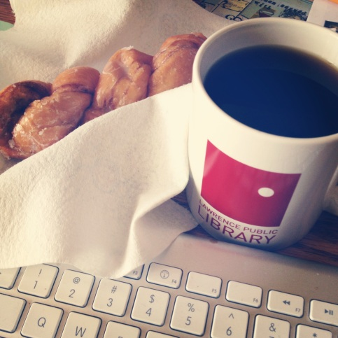 Munchers and LPL coffee for NaNo