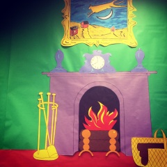Goodnight Moon children's room display
