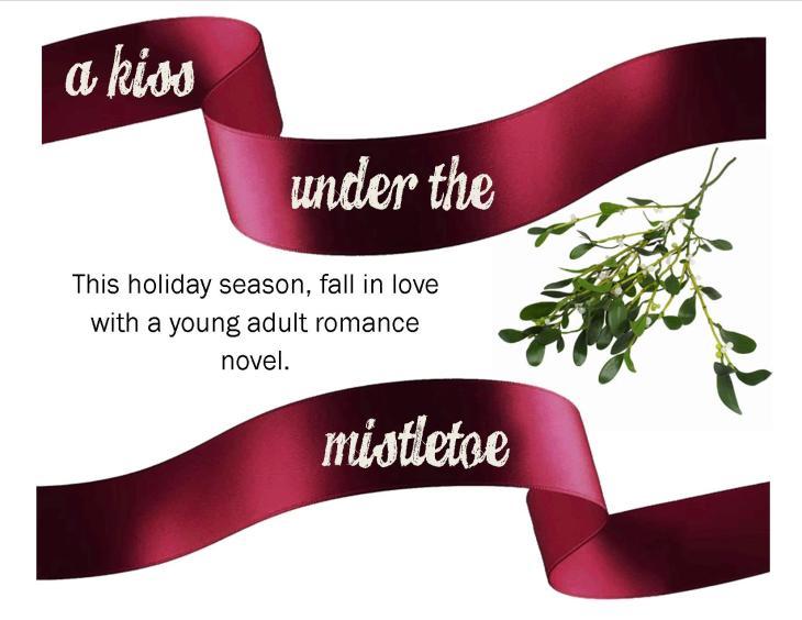 under the mistletoe display