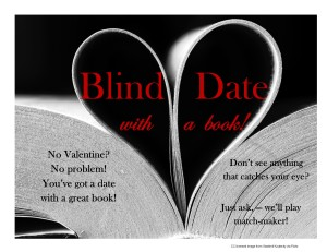 blind date with a book display 2014