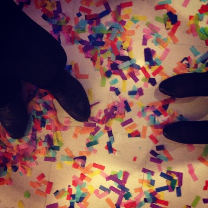 confetti NYE 2013
