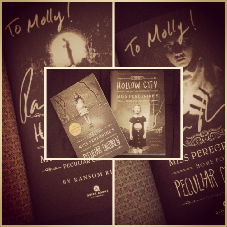 Miss Peregrine's + Hollow City autographed