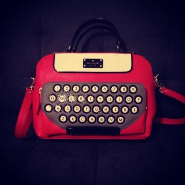 Kate Spade typewriter bag (!!!)