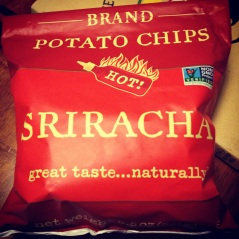 Discovering Sriracha chips
