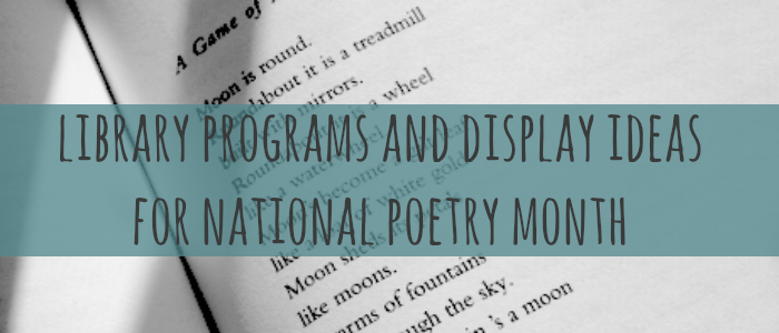 library programs and display ideas banner