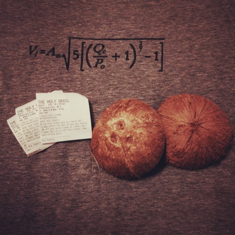 coconuts, math, and monty python and the holy grail