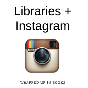 libraries and instagram wrapped up in books
