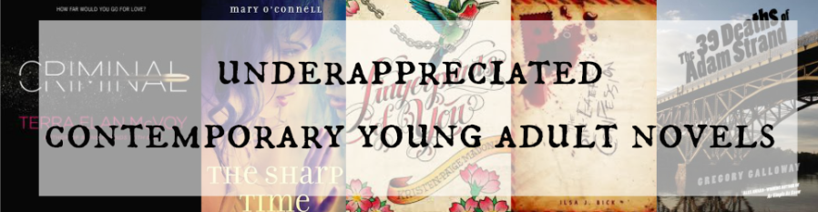 5 Under-Appreciated Contemporary Young Adult Novels