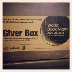 World Book Night Giver Box