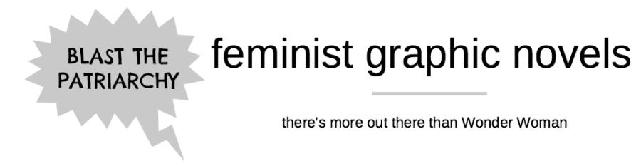 Feminist Fridays: Graphic Novels ReadingList(s)