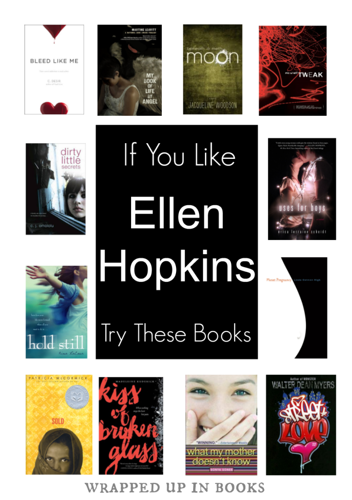 Ellen Hopkins read-alikes | wrapped up in books