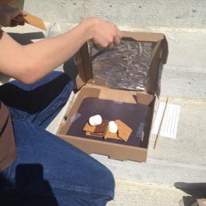 solar powered ovens STEM program   wrapped up in books