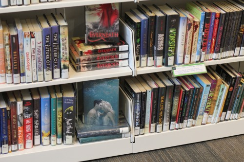 displaying series together   wrapped up in books